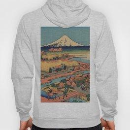 Hokusai Katsushika - The tea plantation Of Katakura In the Suruga province Hoody