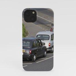 London Taxis Heathrow Airport iPhone Case
