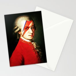 Mozart Bowie Stationery Cards