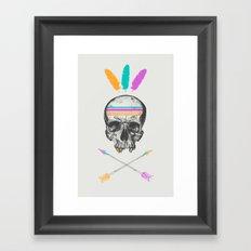 Dead Chief  Framed Art Print
