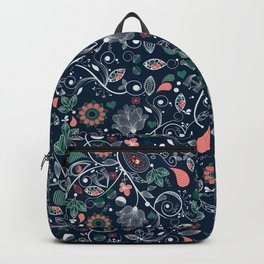 Seamless Paisley Pattern 2 Backpack