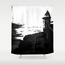 La Garita en San Juan Shower Curtain