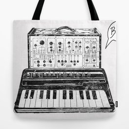 Keyboard.  Tote Bag