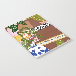 Bohemian stairs Notebook