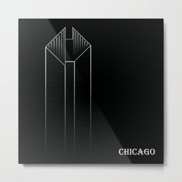 Chicago 2B Metal Print