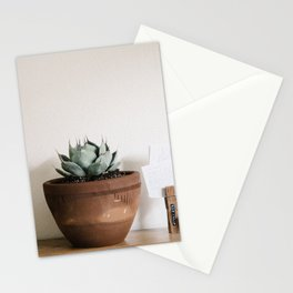 indoor agave Stationery Cards