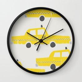 New York Taxicab Wall Clock