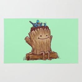 Good Day Log's Bird Nest Rug