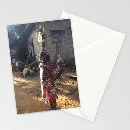 Zanzibar Bag Girl Stationery Cards