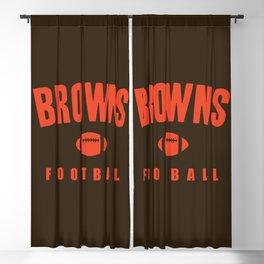 Browns Football Blackout Curtain