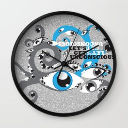 Let's Get Uncoscious Wall Clock