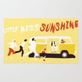 THE ROAD TO MISS  SUNSHINE Rug