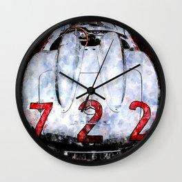 300 SLR 722 Mille Miglia Wall Clock