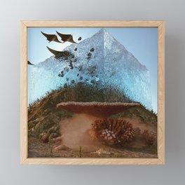 above water Framed Mini Art Print
