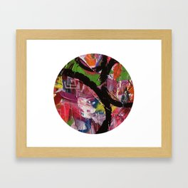 Whirl Abstract Art Framed Art Print