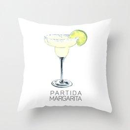 Partida Margarita Throw Pillow