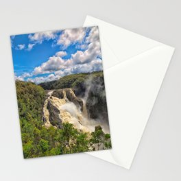 Magnificent Barron Falls in Queensland Stationery Cards
