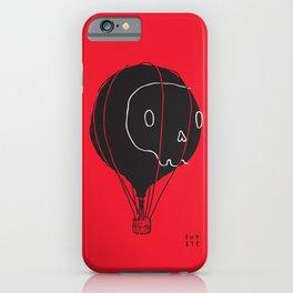 Hot Air Balloon Skull iPhone Case
