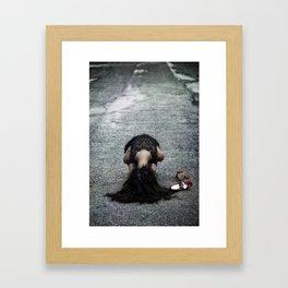 desperation Framed Art Print