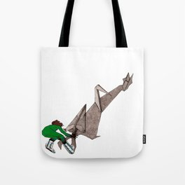 Ability to fold shadows Tote Bag