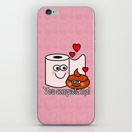 You Complete Me! iPhone Skin