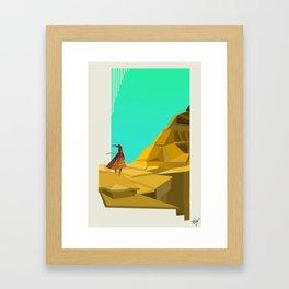 Journey Desert Framed Art Print