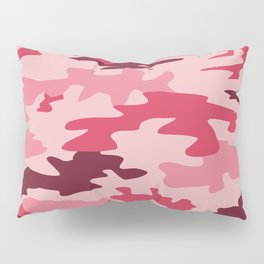 Camouflage Print Pattern - Pinks & Purples Pillow Sham