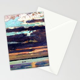 Sunset, Lake Simcoe by James Edward Hervey MacDonald Stationery Cards