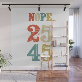 Support 25th Amendment Funny Anti Trump Vintage Retro Gift Wall Mural