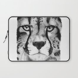 Cheetah face Laptop Sleeve