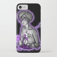 asexual iPhone & iPod Cases featuring Ace of Spades by Kieran Thompson
