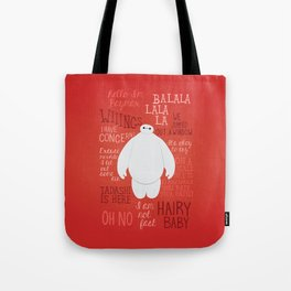Hello, I'm Baymax Tote Bag
