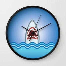 Cartoon Shark Wall Clock