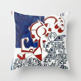 WORLD ANCHOR Throw Pillow