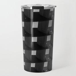 Straight lines of modern architecture Travel Mug