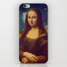 Mona Lisa's Galaxy iPhone & iPod Skin
