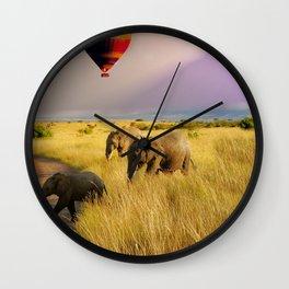 safari life Wall Clock