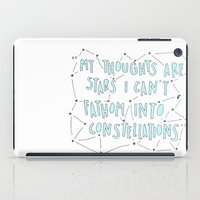 the fault iPad Cases featuring The Fault in Our Stars by Christa Morgan ☽
