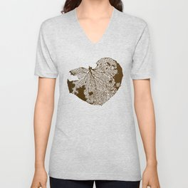 Leaf Skeleton Unisex V-Neck