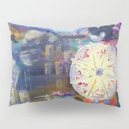 Japanese Umbrella Pillow Sham