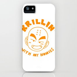 Krillin With My Homies iPhone Case