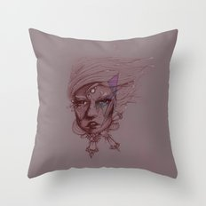 Pearl and Prism Throw Pillow