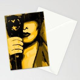 Vintage Camera Girl Stationery Cards