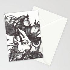 Rosas y espinas Stationery Cards