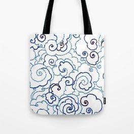 Embroidery Sky Tote Bag