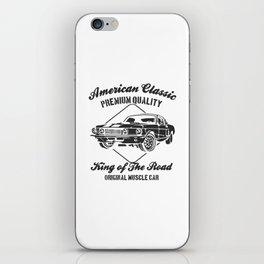 american clasic iPhone Skin