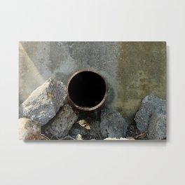 Rabbit Hole Metal Print