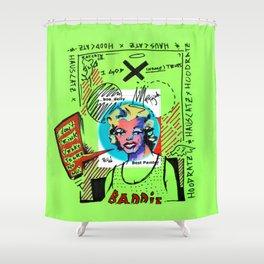 HR|HC X Boo Deity Shower Curtain