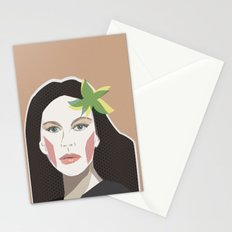 At Last the Secret Is Out Stationery Cards