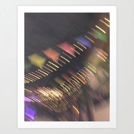Lights and Pennants Art Print